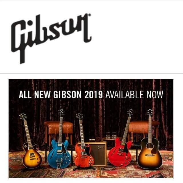 ギブソン公式サイト
